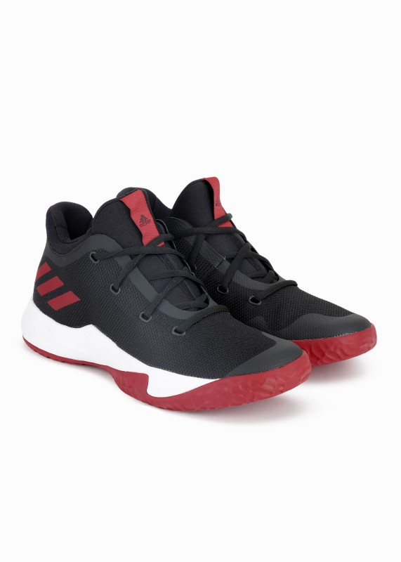 ADIDAS RISE UP 2 Basketball Shoes For Men(Black, Red)