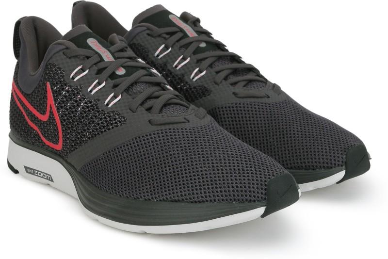 Nike NIKE ZOOM STRIKE Running Shoes For Men(Grey)