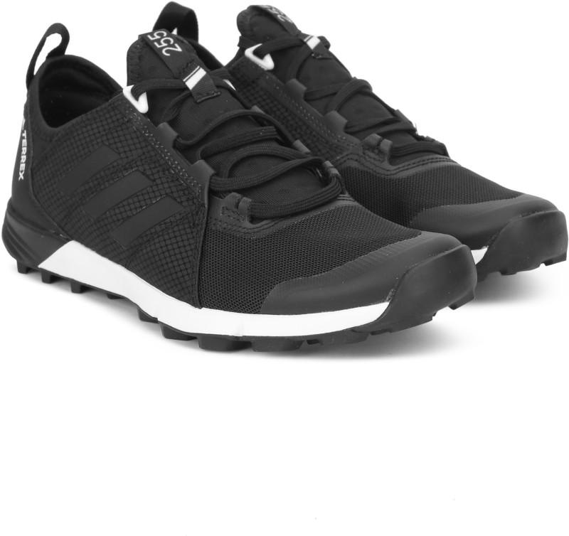 ADIDAS TERREX AGRAVIC SPEED Walking Shoes For Men(Black)