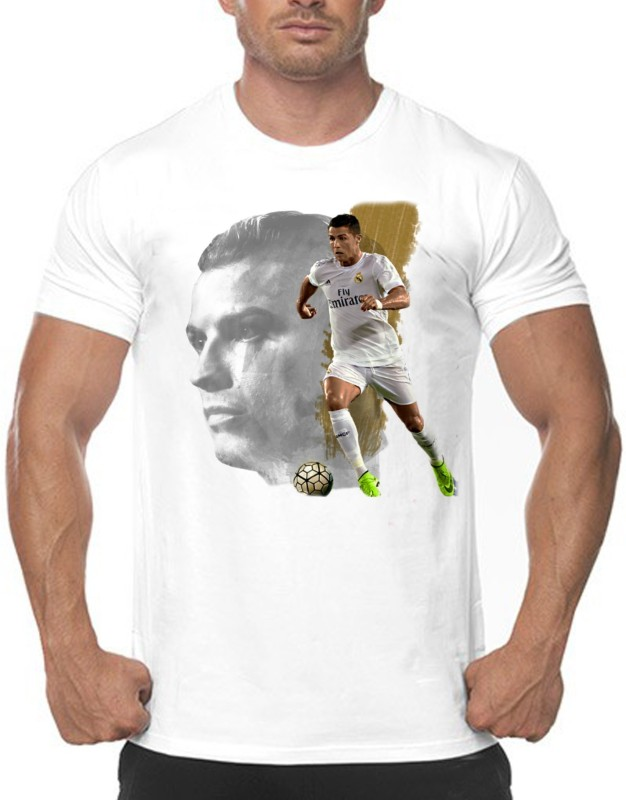 Vintage Clubwear Printed Men & Women Round Neck White T-Shirt