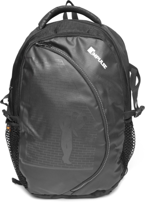 Impulse 40 Ltr with Rain Cover 40 L Backpack(Black)