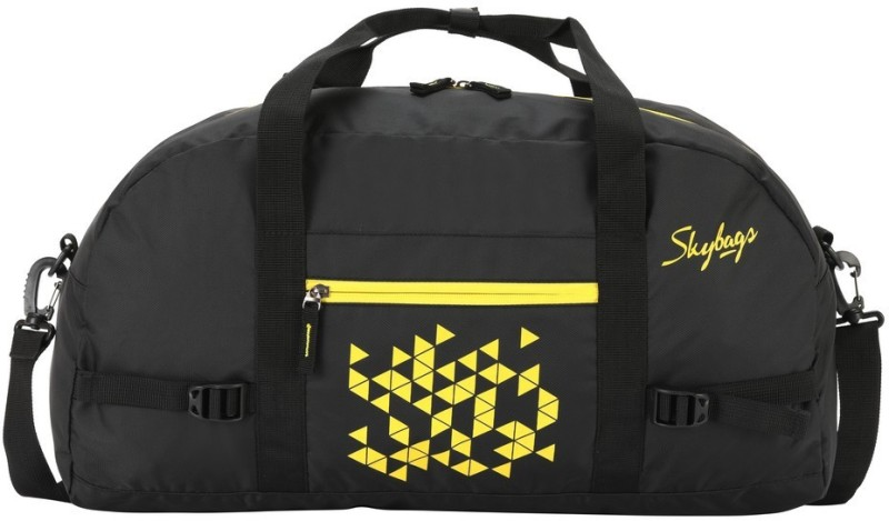 Skybags Foldable Bag Black Travel Duffel Bag(Black)