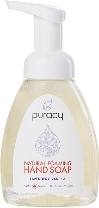 Puracy Natural Foaming Hand Soap Pump Dispenser(251 ml)