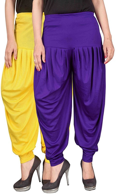 Navyataa Self Design Lycra Womens Harem Pants