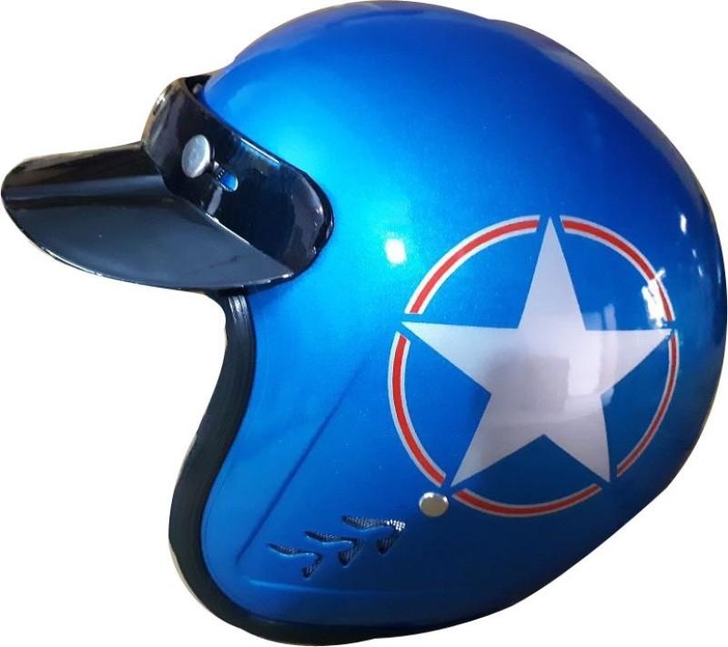 4usupreme supreme-1 jet Motorbike Helmet(Blue)