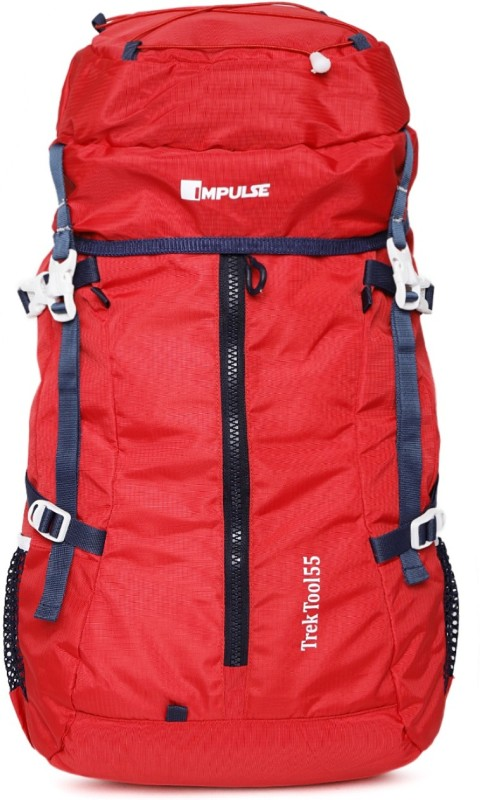 Impulse Trek Tool 55 Red Rucksack - 55 L(Red)