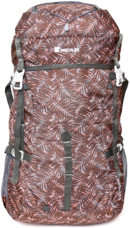 Impulse Foliage 65 Brown Rucksack - 65 L(Brown)