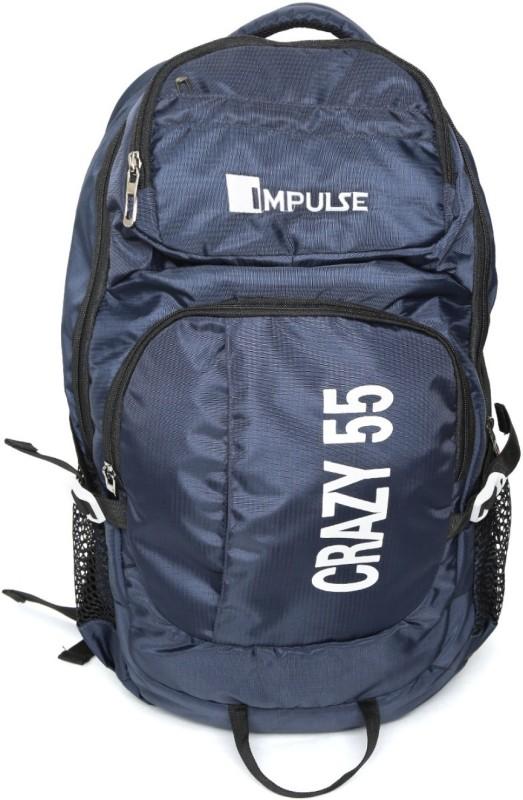 Impulse Crazy 55 Ltr Blue Rucksack - 55 L(Blue)