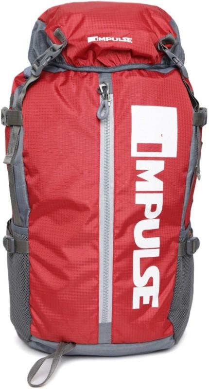 Impulse Climber Red Rucksack - 40 L(Red)