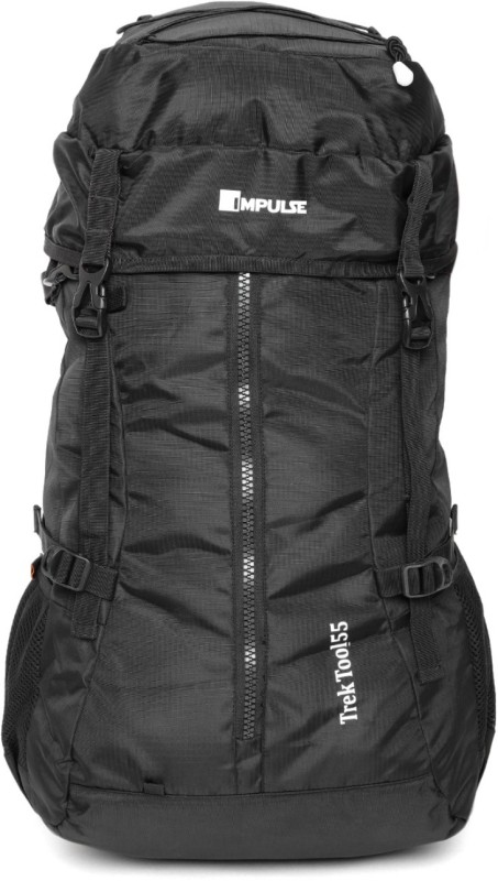 Impulse Trek Tool 55 Black Rucksack - 55 L(Black)