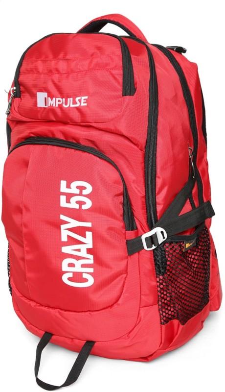 Impulse Crazy 55 Ltr Red Rucksack - 55 L(Red)