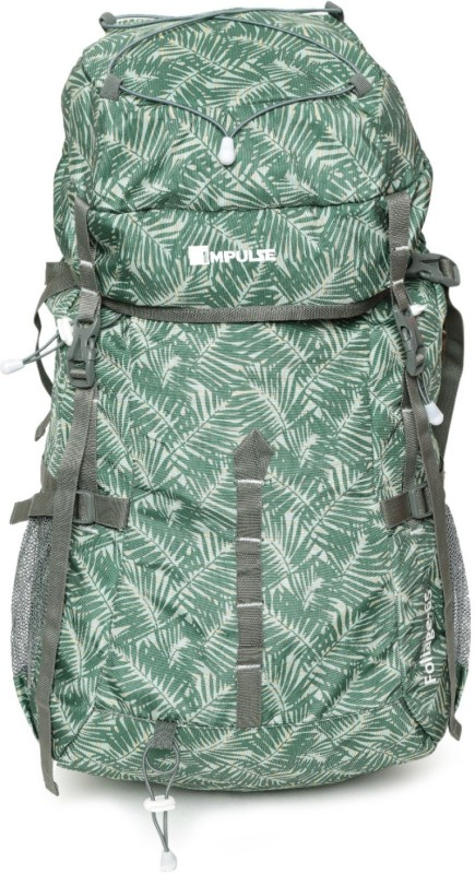 Impulse Foliage 65 Green Rucksack - 65 L(Green)