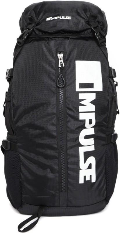 Impulse Climber Black Rucksack - 40 L(Black)
