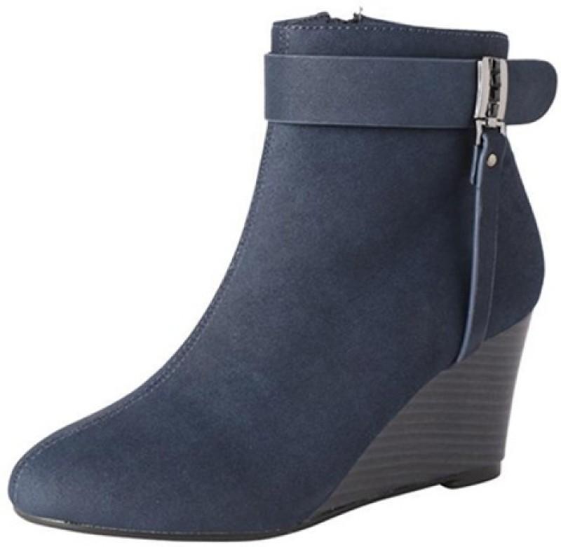 Allen Solly Boots For Women(Navy)