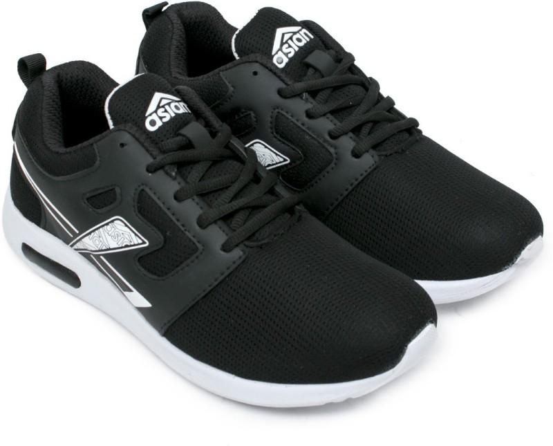 Asian sports shoes Walking Shoes For Men(Black, White)