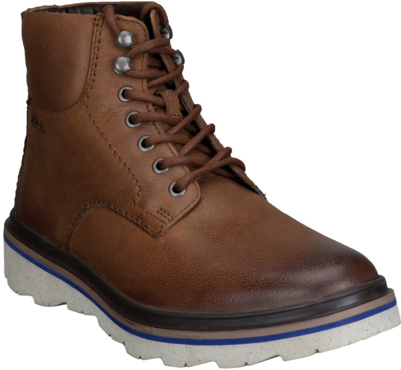 Clarks Boots For Men(Brown)