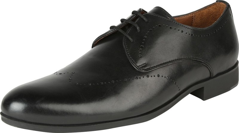 Van Heusen Derby For Men(Black)