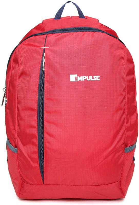 Impulse Hopper Red 23 L Trolley Backpack(Red)