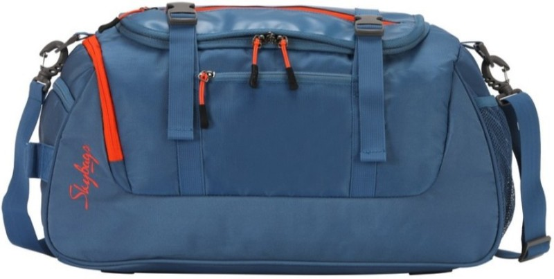 Skybags Tic Tac Duffle Blue Travel Duffel Bag(Blue)
