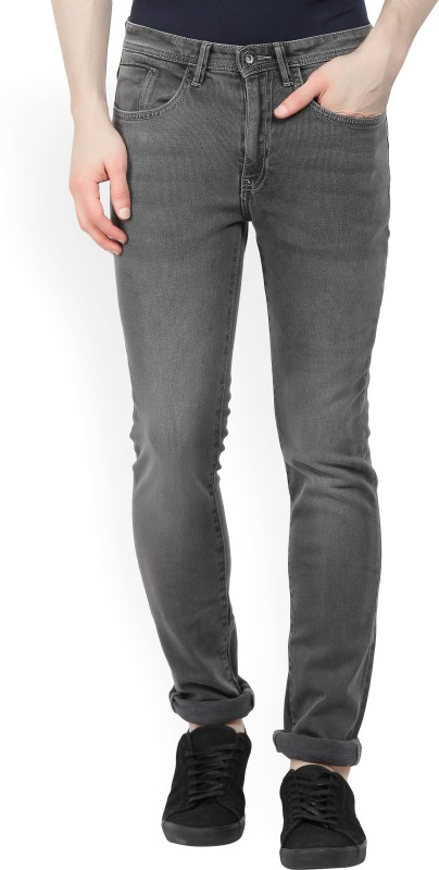 V Dot by Van Heusen Slim Men Grey Jeans