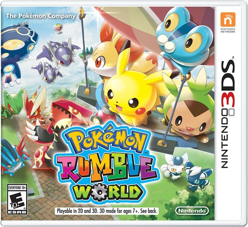 POKEMON RUMBLE WORLD 3DS(for 3DS)