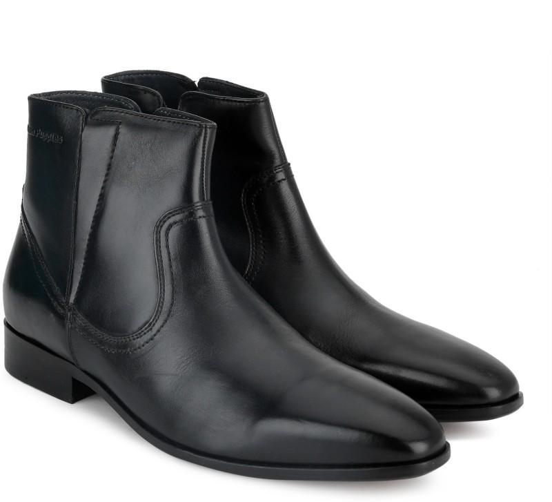 Hush Puppies By Bata ELAN BOOT Boots For Men(Black)