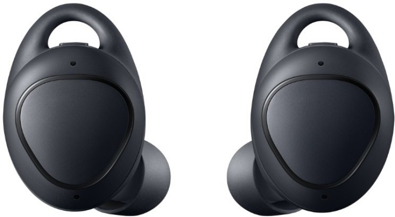 Samsung SM-R140NZKAINU Bluetooth Headset with Mic(Black, In the Ear)