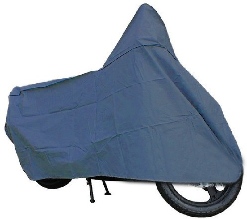 A+ RAIN PROOF Two Wheeler Cover for Mahindra(Kine, Blue)