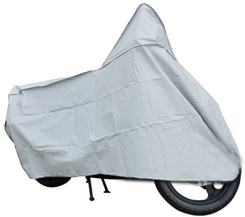 A+ RAIN PROOF Two Wheeler Cover for Hero(Impulse, Silver)