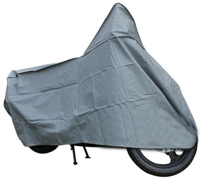 A+ RAIN PROOF Two Wheeler Cover for Bajaj(Discover 150 f, Grey)