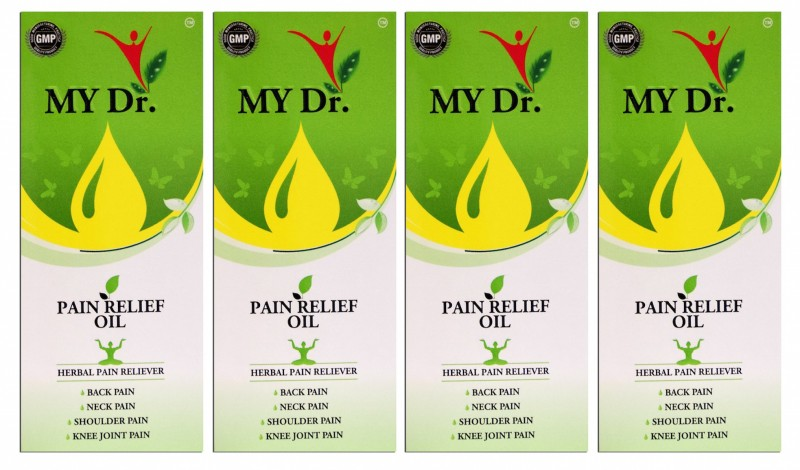MY Dr. Pain Relief Oil (Pack of 4), Back pain reliever, Joint Pain reliever, Knee pain reliever, Joint Pain reliever, Aromatic Smell Liquid Liquid(240 ml)