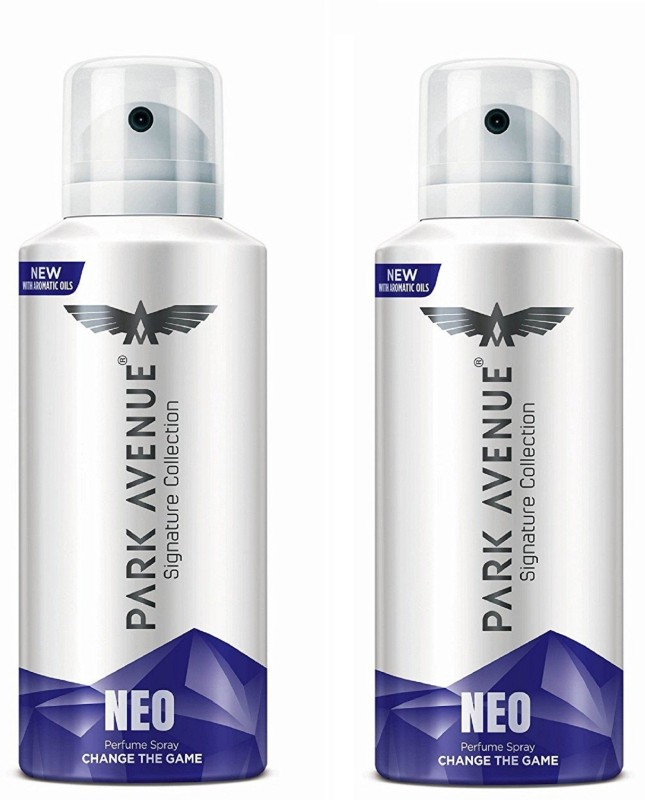 Park Avenue Neo Signature Collection Body Spray 130ML Each (Pack of 2) Deodorant Spray - For Men & Women(260 ml, Pack of 2)