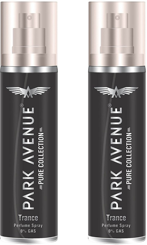 Park Avenue Trance Pure Collection Perfume Spray 135ML Each (Pack of 2) Perfume Body Spray - For Men & Women(270 ml, Pack of 2)