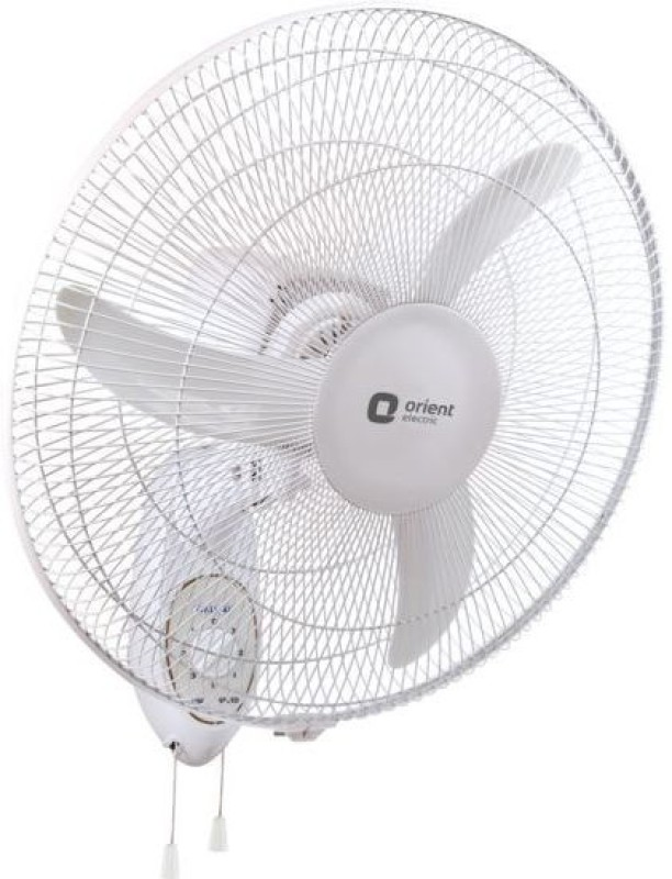 Orient ELECTRIC WALL 48 450 MM 3 Blade Wall Fan(CRYSTAL WHITE)