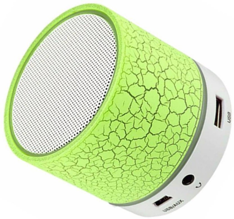 hoatzin Mini S10 Wireless Bluetooth With High Quality Sound Bluetooth Speaker-082 3 W Bluetooth Speaker(Green, 2.1 Channel)
