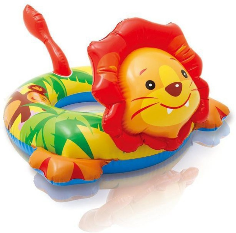 SWASH Lion Animal Ring Swim Floatation Belt