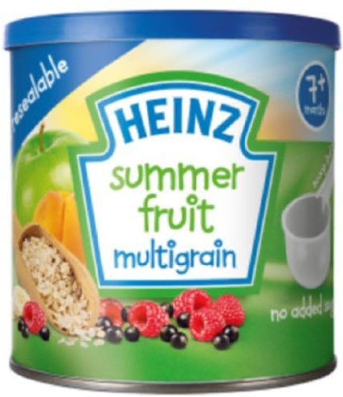 Heinz Baby Food Summer Fruit Multigrain 240g Cereal(240 g, 7+ Months)