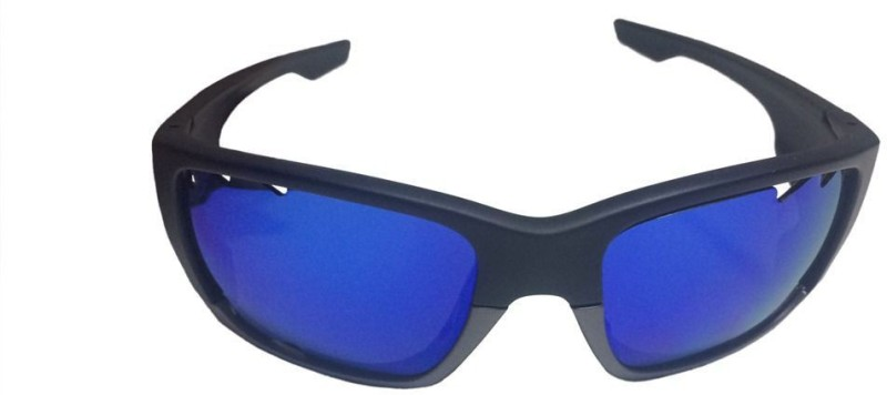 Omtex Smash Blue Sports Sunglasses Sports Goggles(Blue)
