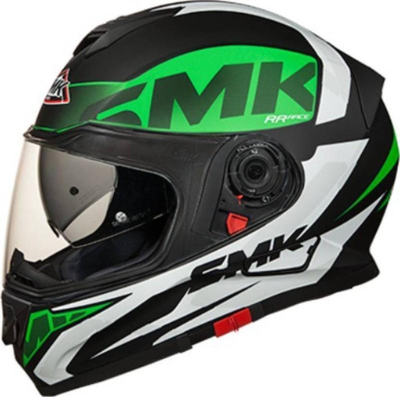 SMK TWISTER LOGO MA 281 XL Motorbike Helmet(Black)