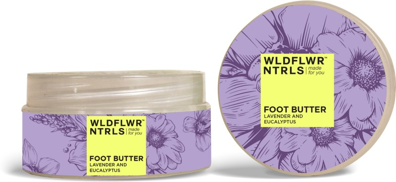 WLDFLWR NTRLS Foot Butter with Lavender and Eucalyptus(80 g)