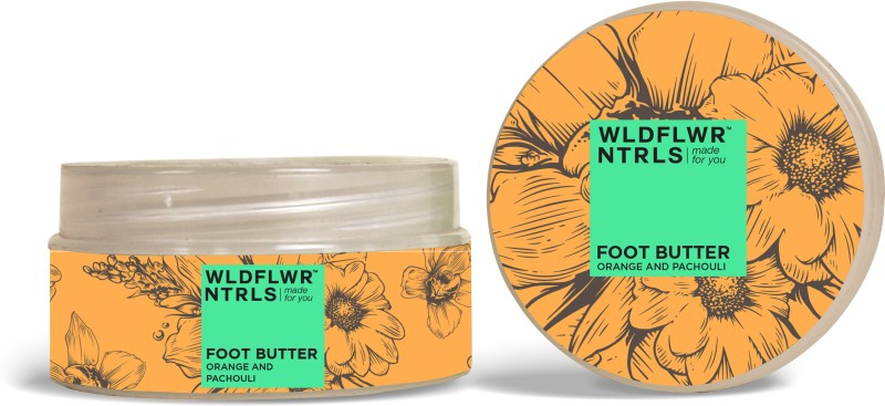 WLDFLWR NTRLS Foot Butter with Orange and Pachouli(80 g)