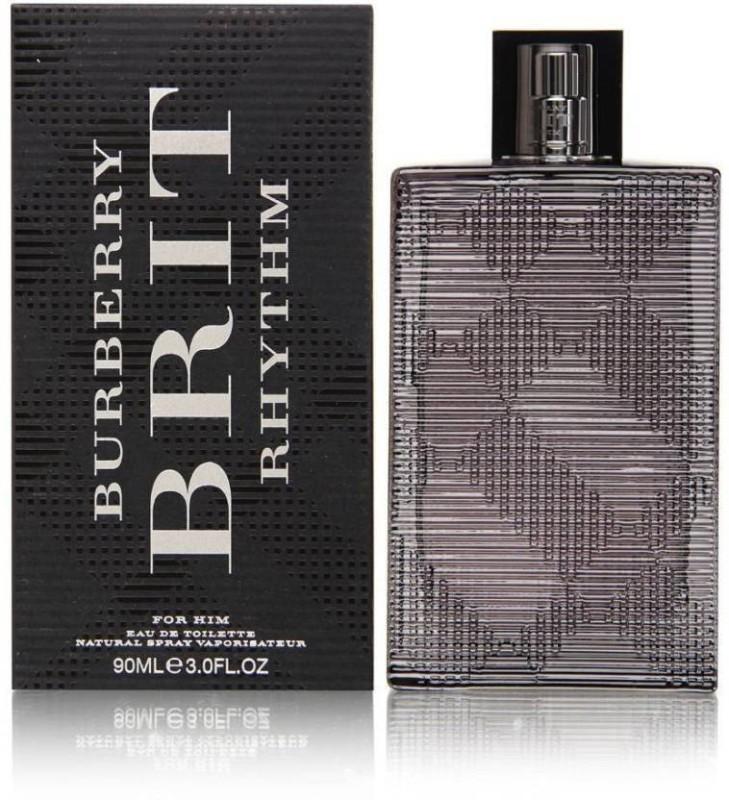 Burberry Perfmes Brit Rhythm For Him Eau de Toilette - 90 ml(For Men)