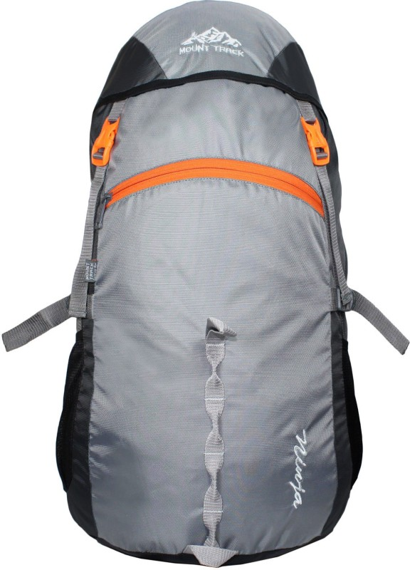 Mount Track Ninja 40 Ltrs Rucksack, Hiking & Trekking Backpack Rucksack - 40(Grey)