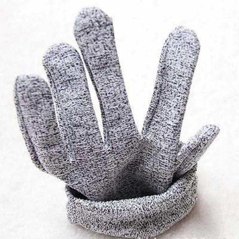 ODDEVEN 1 Pair Cut Resistant Gloves Inner Gloves (Free Size, Grey)