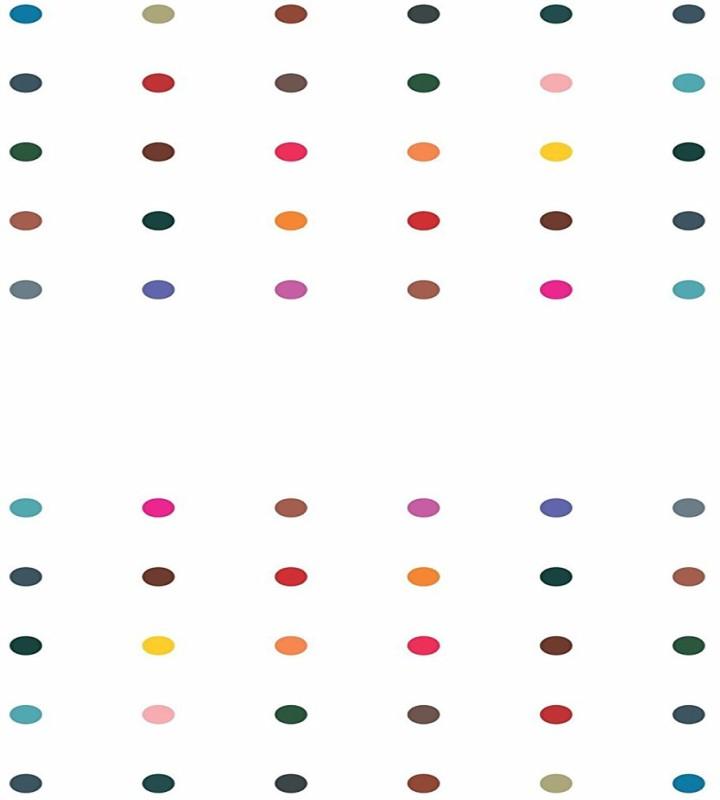 Kohinoor Multicolor round bindi for women Women Multicolor Bindis(Stick on)