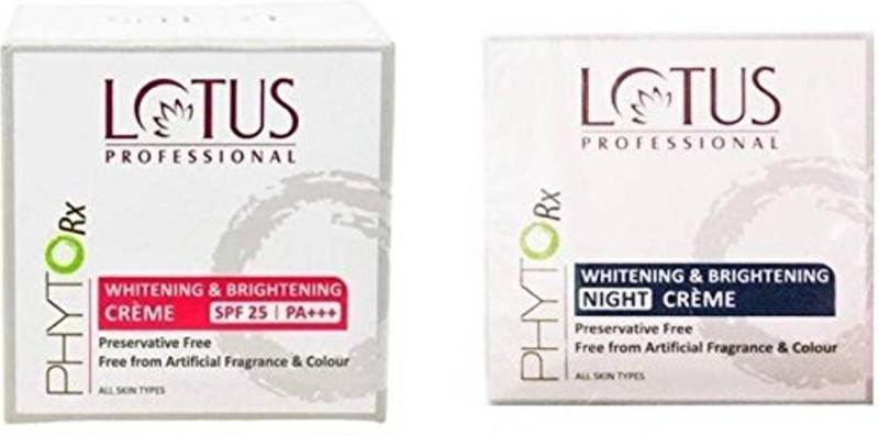 Lotus Professional Phytorx Whitening & Brightening Cream (Set Of 2(50 g)