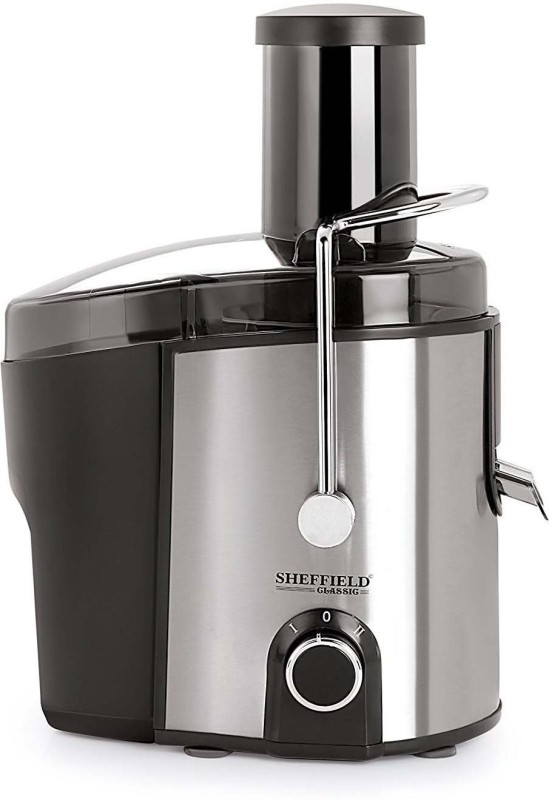 sheffield New SH-1012 450 W Juicer(Black,Silver, 1 Jar)