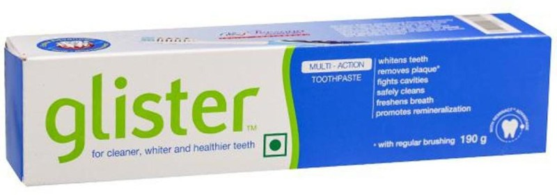 Amway GLISTER 190 G TOTHPASTE(FREE 40 GM TOOTHPASTE) Toothpaste(190 g)