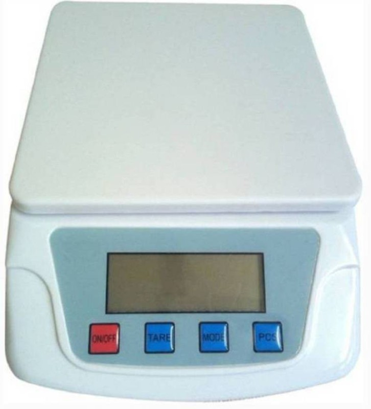 stepgear ts200 weight 10gm to 10 kg Weighing Scale(White)