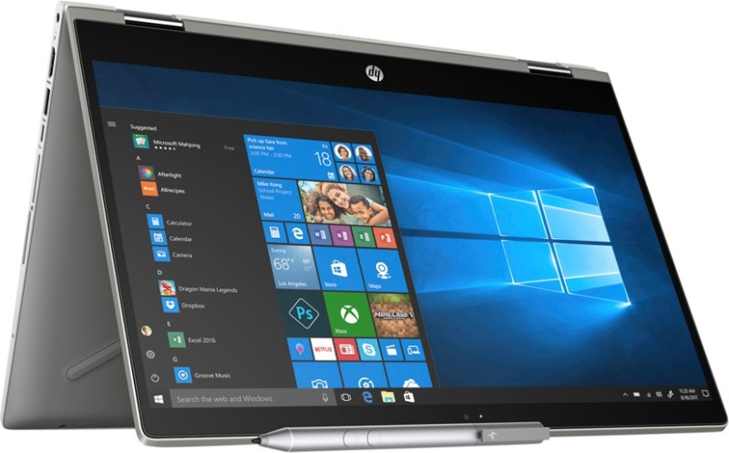 HP Pavilion x360 Core i5 8th Gen - (8 GB/1 TB HDD/8 GB SSD/Windows 10 Home/2 GB Graphics) 14-cd0051TX 2 in 1 Laptop(14 inch, Mineral Silver, 1.68 kg, With MS Office)